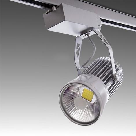 Conector de luminaria de carril trif/ásico A de K.trac en blanco