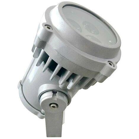 Foco de jardín FOUNTAIN LED, 9W, IP67, Bridgelux, Blanco neutro