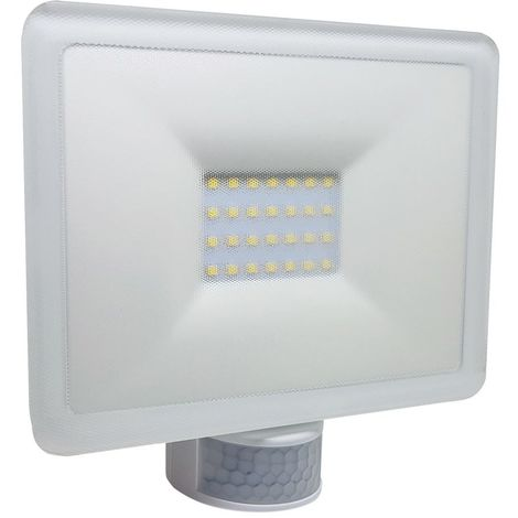 Foco de led blanco con sensor de movimie Perry 1SPSPF20WB