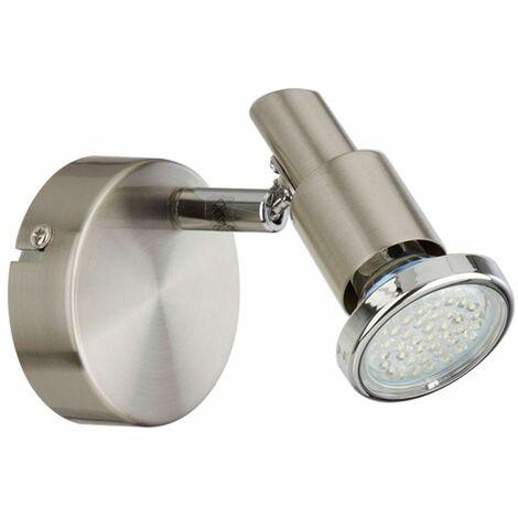 Foco de pared LED para salón, comedor, iluminación, punto de luz, lámpara de pasillo ajustable