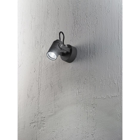 Foco de pared regulable para exteriores cm 0 PERENZ 6522 A