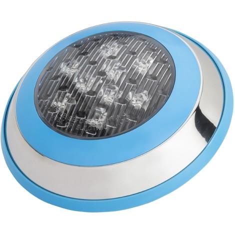 Foco de Piscina de LEDs Montaje Superficie Ø230Mm 9W Multicolor con Mando   RGB (KD-FPS-44-9W-RGB)