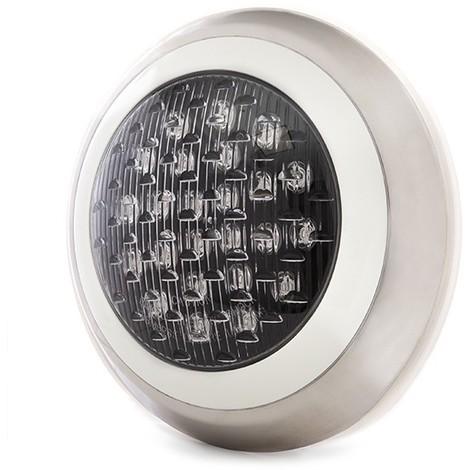 Foco de Piscina de LEDs Montaje Superficie Ø300Mm 24W Blanco Natural | Blanco Natural (KD-FPS-63-24W-W)