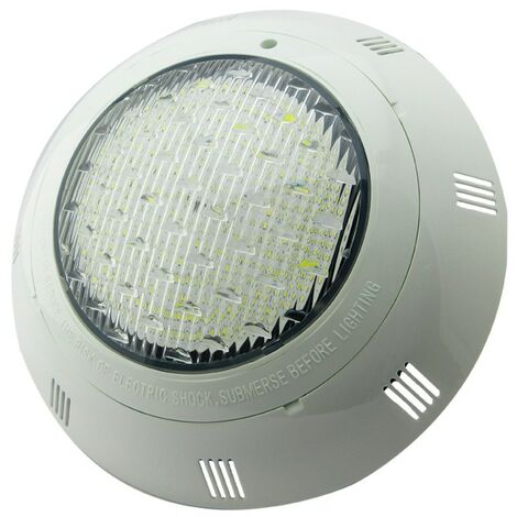 Foco de piscina LED luz blanca 25W montaje superficie