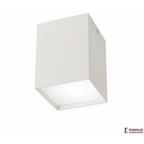 Foco de superficie led rectangular Kailua gris o blanco | 2L blanco - 0