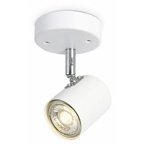Foco de techo 1 elemento GU10 Blanco GSC 001905355