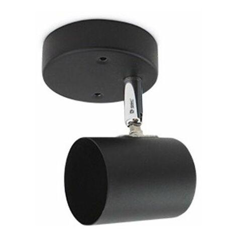 Foco de techo 1 elemento GU10 Negro GSC 001905356