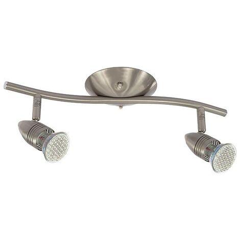 Foco de techo ajustable con luz GU10