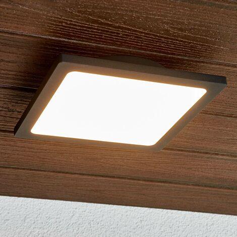 Foco de techo exteriores LED Mabella gris oscuro
