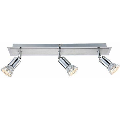 Foco de techo LED, barra de foco, iluminación de dormitorio móvil Globo 57997-3