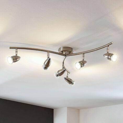 Foco de techo LED Benina, 6 luces