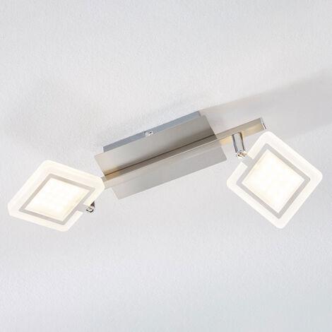 Foco de techo LED Evelina, 2 focos