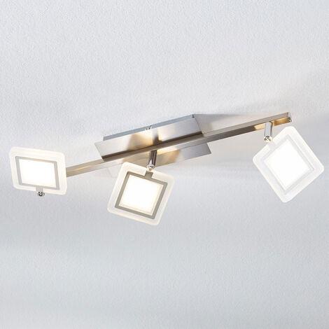 Foco de techo LED Evelina, 3 focos