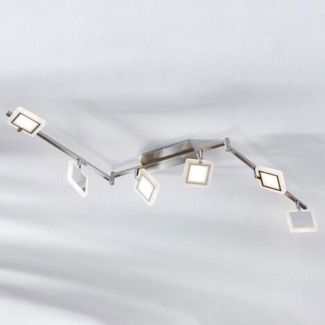 Foco de techo LED Evelina, 6 focos