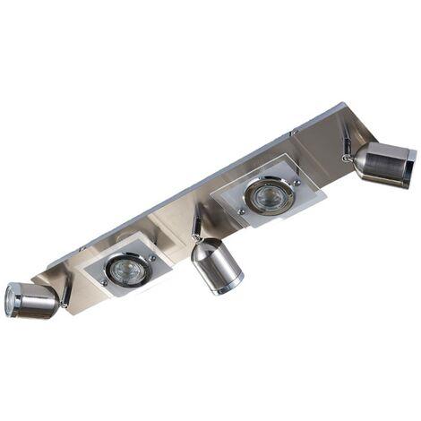 Foco de techo LED Fjolla de cinco llamas