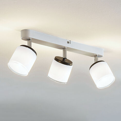 Foco de techo LED Futura 3 focos alargado