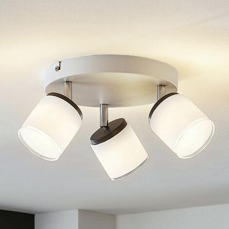 Foco de techo LED Futura 3 focos circular