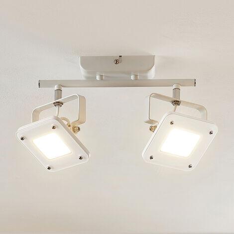 Foco de techo LED Juliana, atenuable, 2 focos