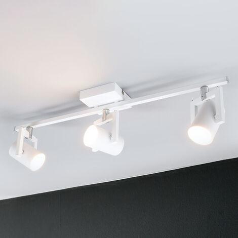 Foco de techo LED Sulamita con 3 bombillas