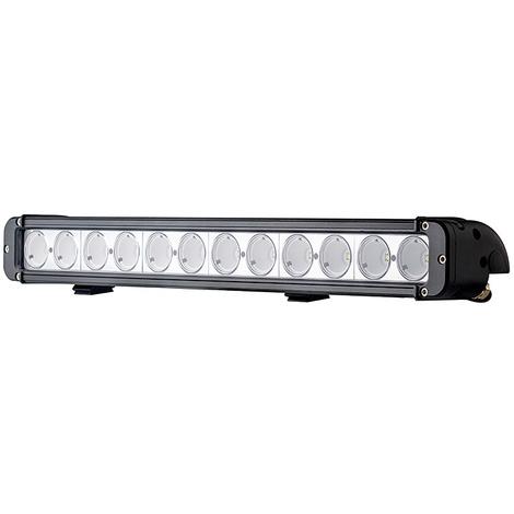 Foco de trabajo - Barra de LED CREE 120w y 52,4 cm de largo, con ángulo de 40º perfecta para camiones y cosechadoras