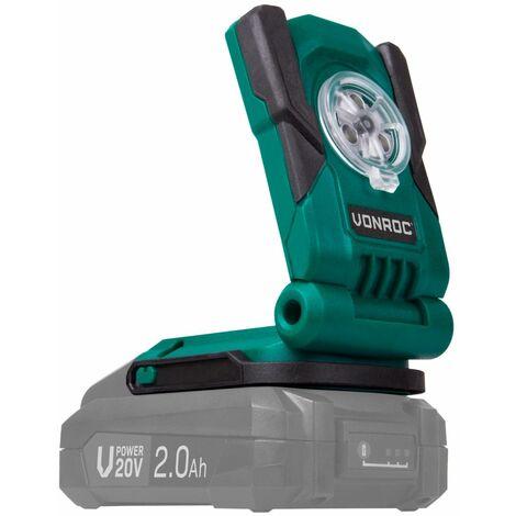 Foco de trabajo VONROC VPower 20V (sin batería)