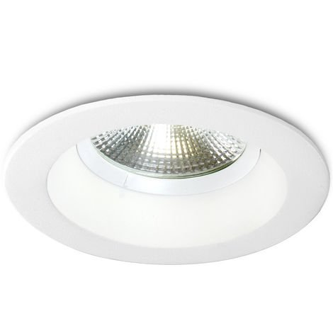 Foco Downlight Circular LED Anti-Deslumbrante COB UGR19 9W 900Lm 30.000H