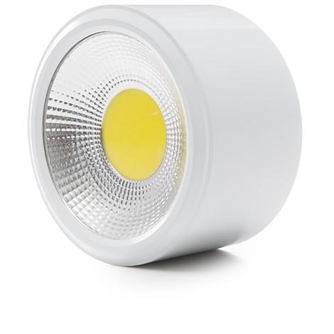 Foco Downlight de Superfice LED COB IP54 12W 960Lm 30.000H | Blanco Natural (GR-MZTD02IP54-12W-W)
