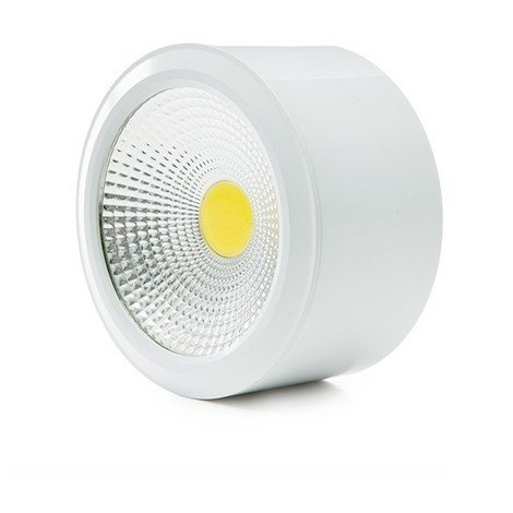 Foco Downlight de Superfice LED COB IP54 7W 560Lm 30.000H | Blanco Natural (GR-MZTD02IP54-7W-W)