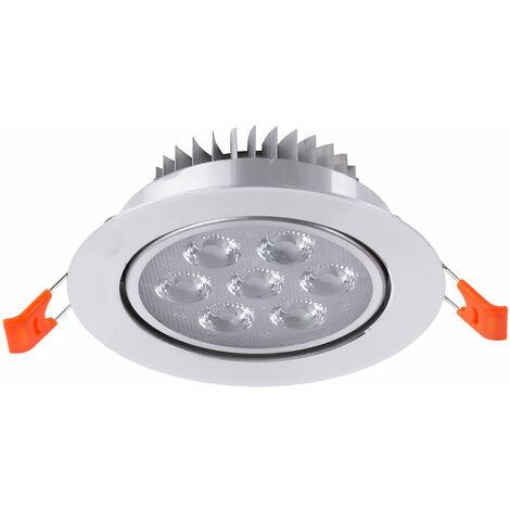 Foco Downlight  LED  Circular 7W 700Lm 30.000H