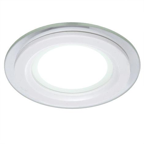 Foco Downlight  LED Circular con Cristal Ø95Mm 6W 450Lm 30.000H GR-MB01-6W-CW