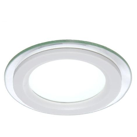 Foco Downlight  LED Circular con Cristal Ø95Mm 6W 450Lm 30.000H GR-MB01-6W-O-CW