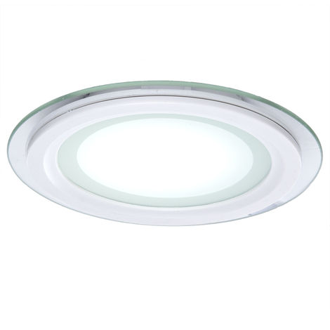 Foco Downlight LED Circular LED con Cristal Ø200Mm 18W 1500Lm 30.000H