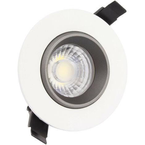 Foco Downlight LED COB Direccionable 360° Circular 7W Design