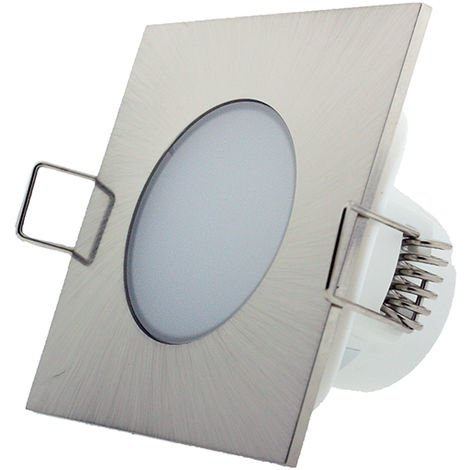 Foco downlight LED CobCarbon Square 5W IP54
