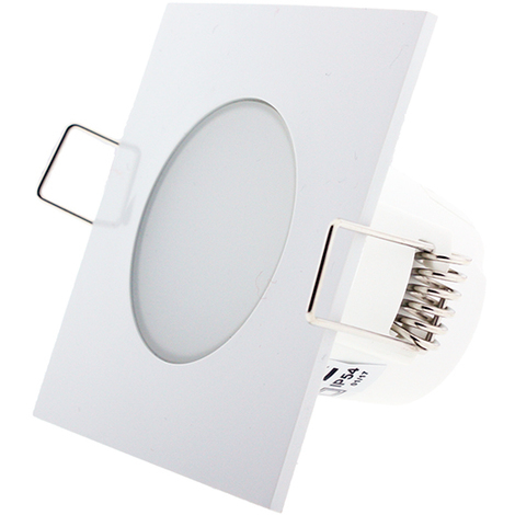 Foco downlight LED CobLow Square 5W IP54