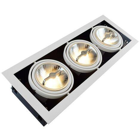 Foco Downlight LED CREE-COB Direccionable AR111 45W Regulable Corte 455x155 mm