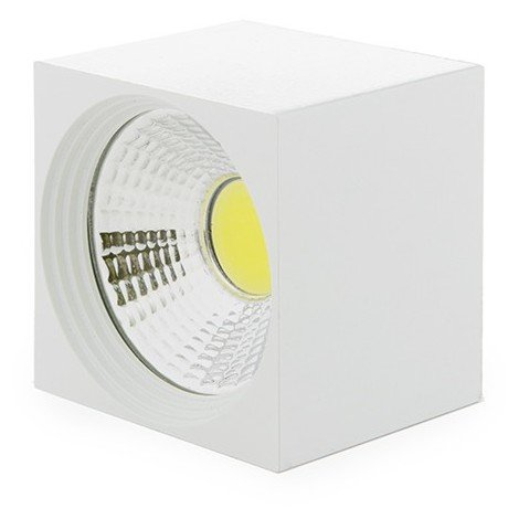 Foco Downlight LED de Superficie COB Cuadrado Blanco 57X57Mm 3W 270Lm 30.000H BF-MZ3002-3W-W-CW