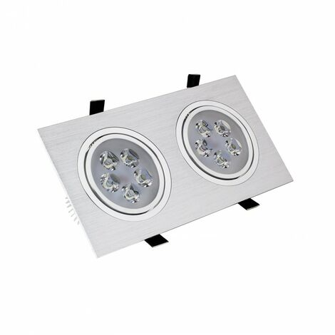 Foco Downlight Led Ledkia A+ 10 W 900 Lm (blanco Frío 6000k - 6500k)