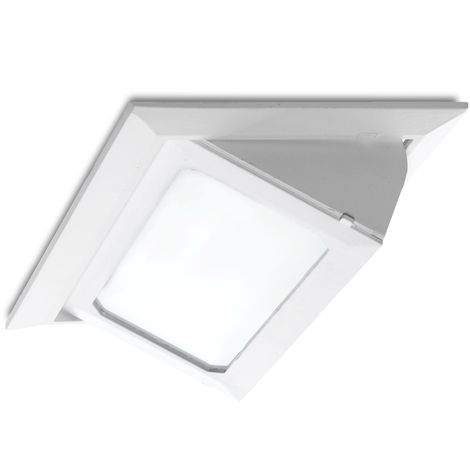 Foco Downlight LED Rectangular Basculante SMD3030 30W 3300Lm 40.000H | Blanco Cálido (LM-3016-WW)