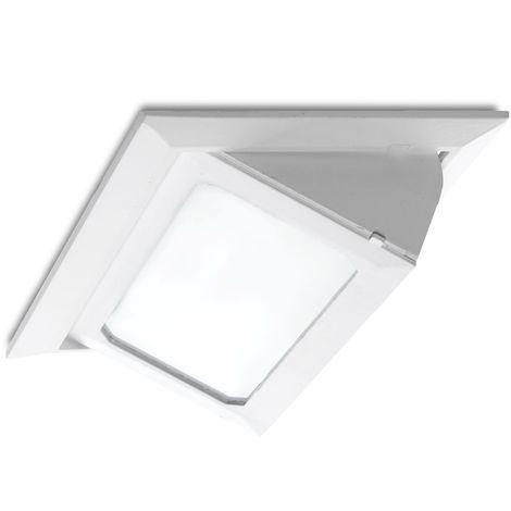 Foco Downlight LED Rectangular Basculante SMD3030 36W 3600Lm 40.000H | Cálido/Frío (LM-3015-CCT)