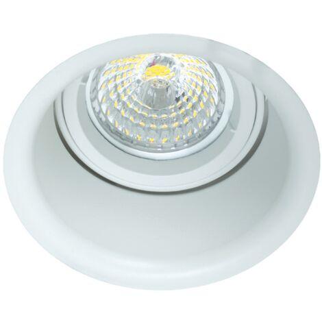 """main image of """"Foco empotrable basculante ambiente circular 91d - Blanco"""""""