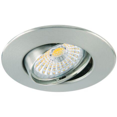 Foco empotrable basculante circular -Disponible en varias versiones