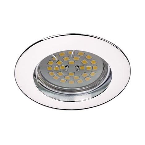 Foco empotrable BASIC redondo fijo cromo. Wonderlamp