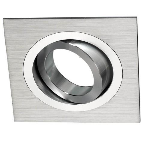 Foco empotrable CLASSIC cuadrado aluminio. Wonderlamp