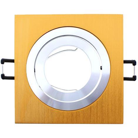 Foco empotrable CLASSIC cuadrado cobre. Wonderlamp