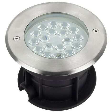 Foco empotrable FOKUA LED 9W, RGB+CCT, SYS-T1, RGB + Blanco dual, regulable