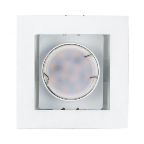 Foco Empotrable Kuvera 1xgu10 Blanco 9,8x9,8x5,4