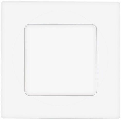 Foco empotrable LED blanco plafón salón lámparas iluminación cuadrado Eglo 78192