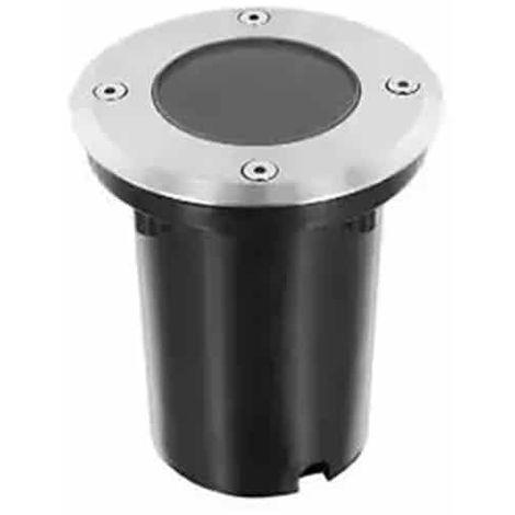 Foco empotrable para suelo IP67 Circular con casquillo GU10