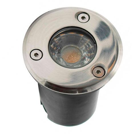 Foco Empotrable para Suelo LED CobBet 3W IP67